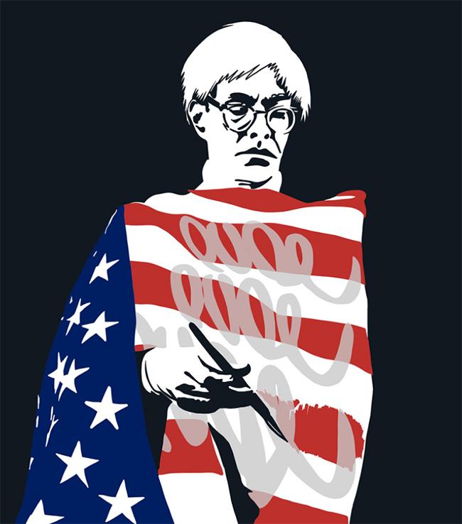 Star-splanged Warhol