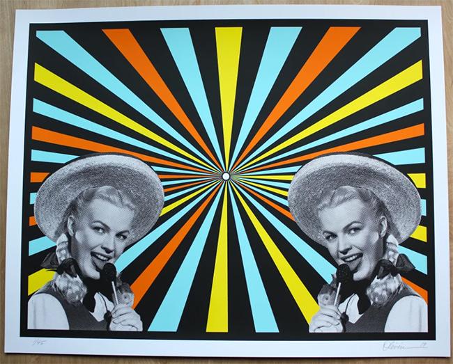 Kaleidopop print  by Tim Oliveira