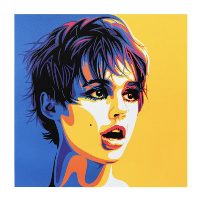 Andy's Girl' print by Rourke Van Dal
