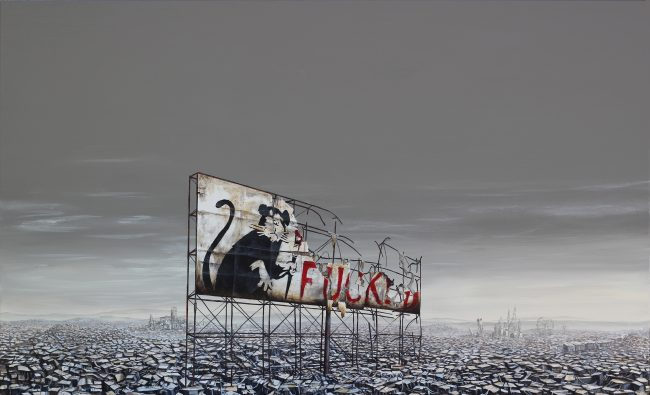 """Apocalyptopian Rat"" by Jeff Gillette"
