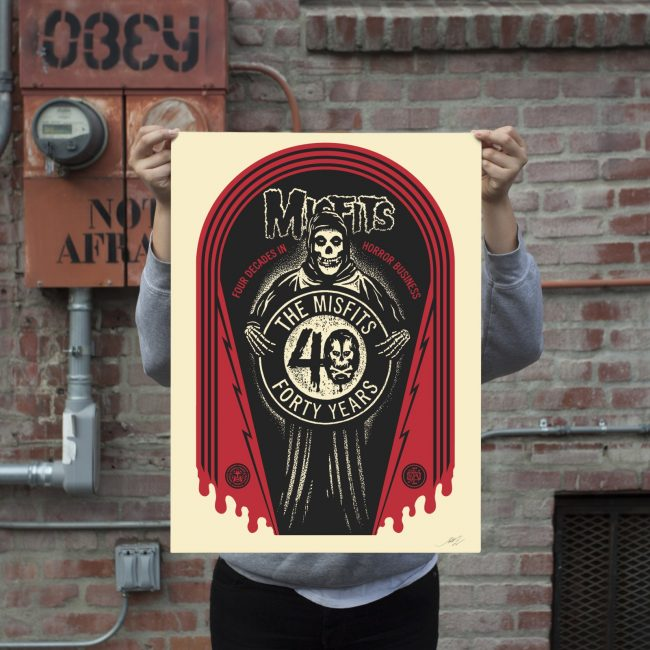 """Crypt dition"" by Shepard Fairey."