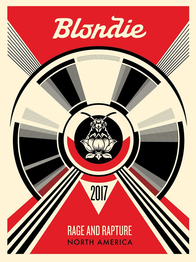 """Live at the Roadhouse"" by Shepard Fairey"