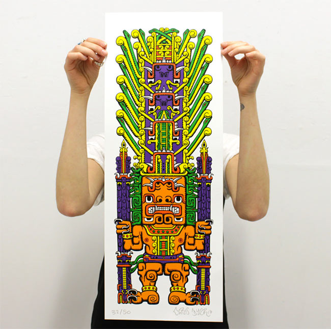 """Huiracocha"" by Chris Dyer"