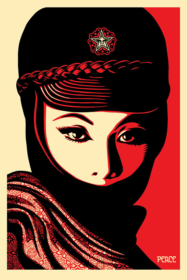 """Mujer Fatal"" by Shepard Fairey"