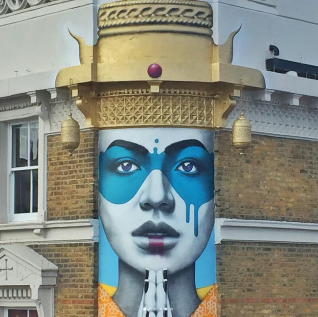 Fin Dac new mural in London