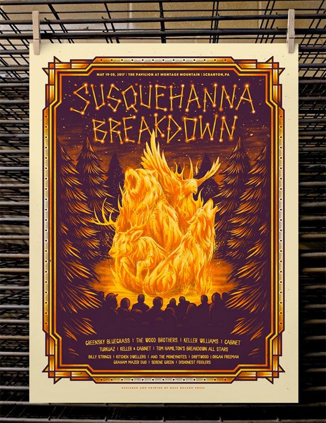 Susquehanna Breakdown 2017 by Half Hazard press