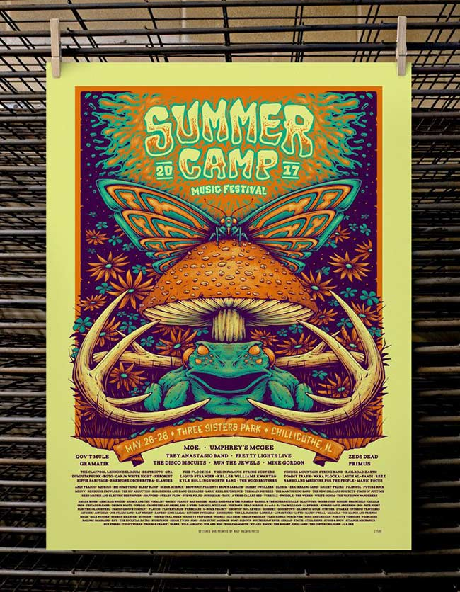 """SCAMP Music Festival"" by half Hazard gallery"