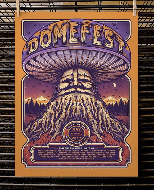 Domefest 2017 by Half hazard Press gallery