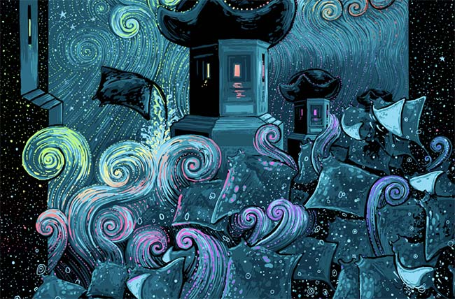 """Mobulas in Dreamland"" by James Eads"