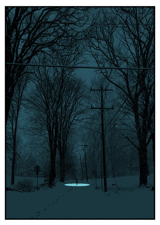 """Quiet Snow Filled the Air"" by Dan McCarthy"