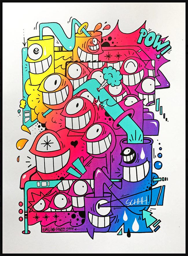"""Pow"" by PEZ"