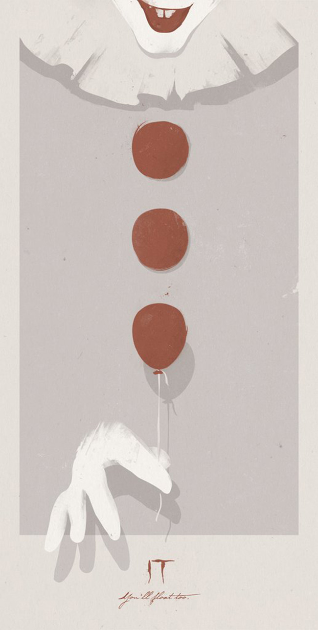 """IT"" print by Patrik Svensson"