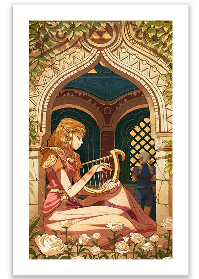"""Lullaby"" new print by Kevin Hong"