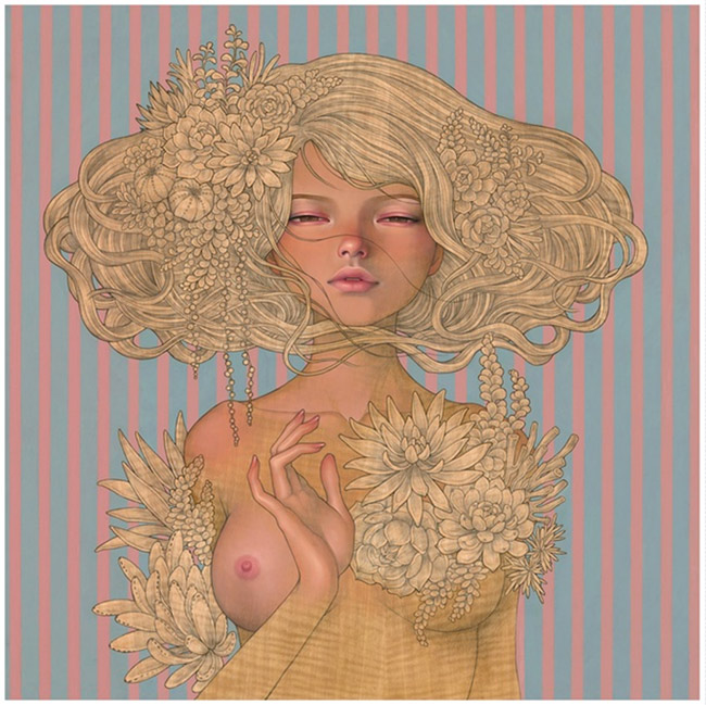 """Enchantress""  new print by Audrey Kawasaki"