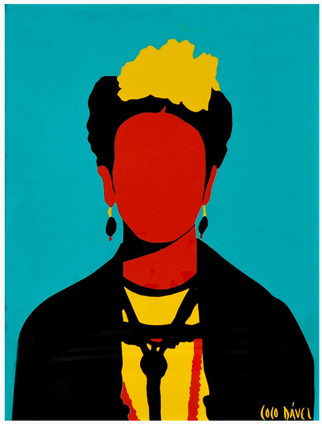 """Frida Kahlo"" new print by Coco Dávez"
