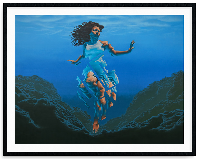 """Pania of the Reef"" by James Bullough"