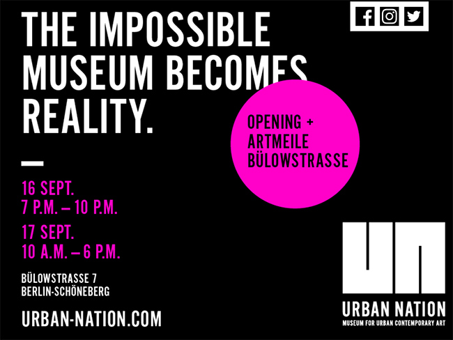 Opening of Urban Nation Museum in Berlin