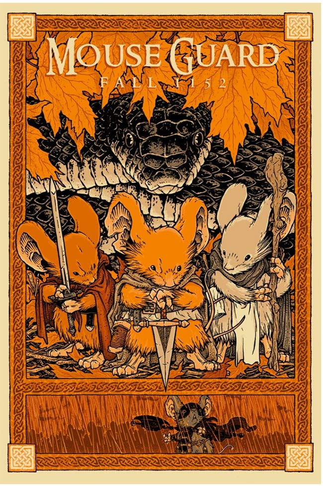 """Mouse Guard (Fall 1152)"" by David Petersen"