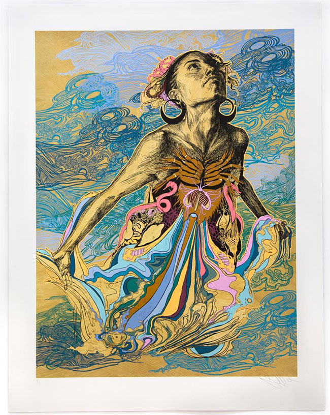 """""""Thalassa"""" print release by Swoonhq"""
