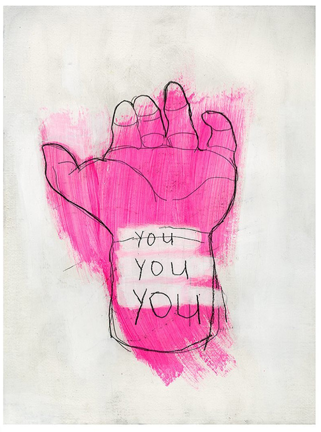 """You You You"" new print by Matthew Heller"
