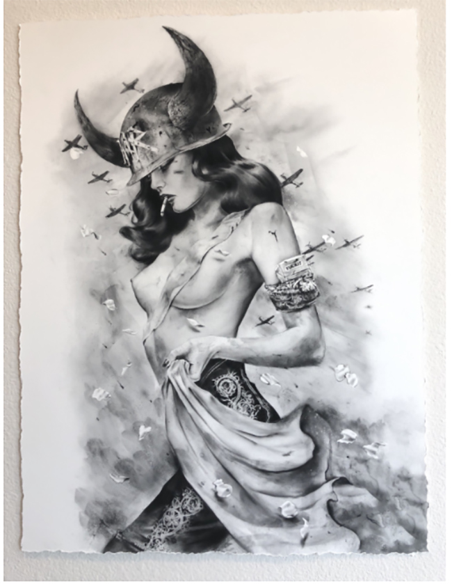 """ Bettlefield"" new print by Brian M. Viveros"
