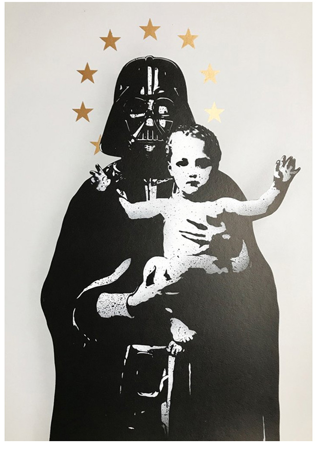 """ My Vader"" new print by Fake"