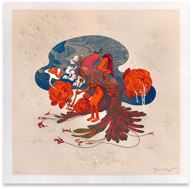 """Max Pipe"" print by James Jean"