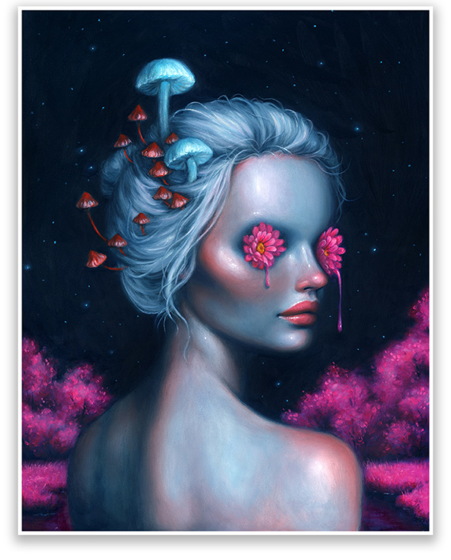 """Lucid"" print by Happy D."