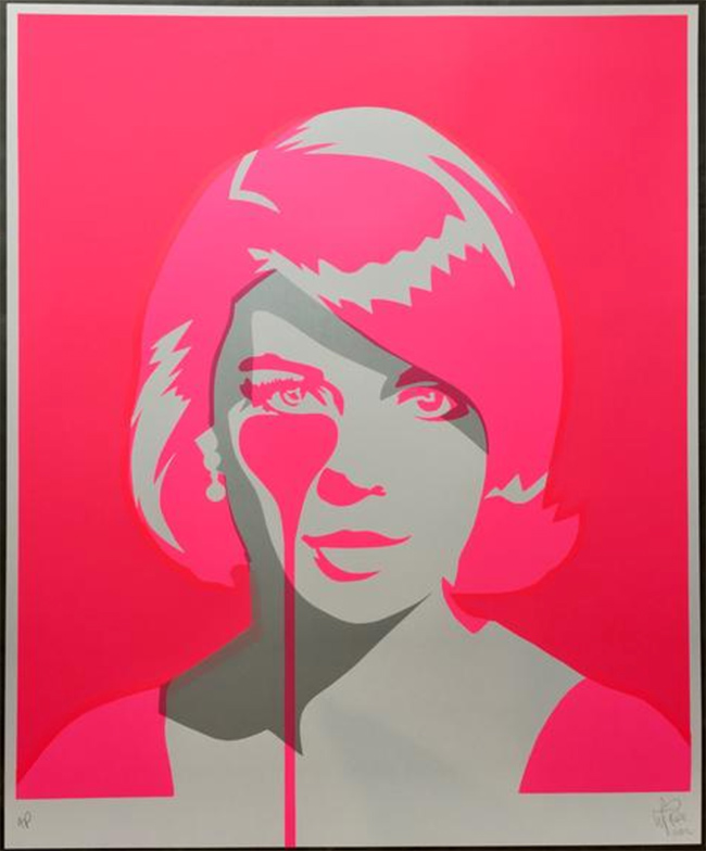 """""""Natalie Wood""""  new print by Pure Evil"""